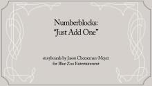 Numberblocks: Just Add One