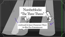Numberblocks: The Three Threes
