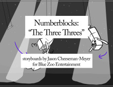 Numberblocks: The Three Threes