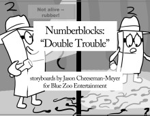 NumberBlocks: Double Trouble